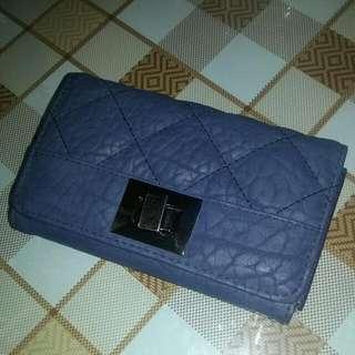 Ostrich Leather Fashion Wallet