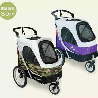 全新 台灣 Petstro沛德奧 寵物手推車  大型寵物車  寵物推車  寵物車  寵物用品