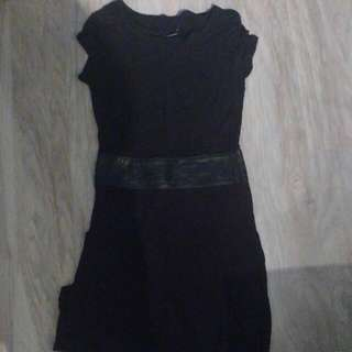 BNWT Club Monaco Black Midi Summer Dress Size 2