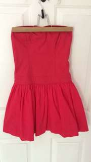 Red Hollister Dress