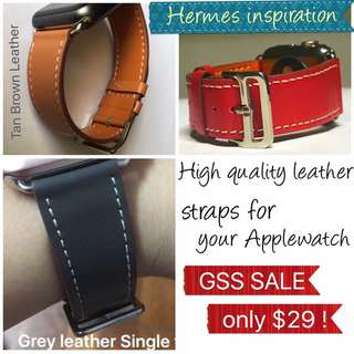 Leather Straps For Applewatch, Iwatch, Apple Watch