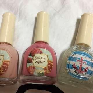 Faceshop Nail Polish /kutek Gliter Pink
