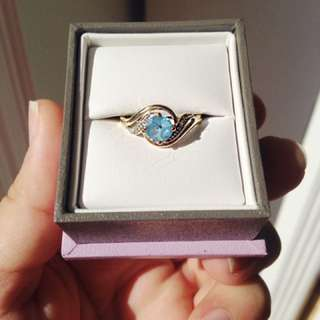 Michael Hill Engagement/promise Ring