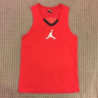 正品 Jordan 燙印 字 透氣孔 DRI FIT 科技 排汗 棉 上衣 (吊牌保留 )