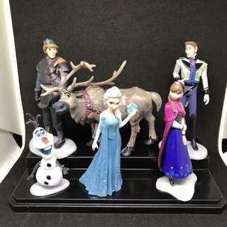 Disney Frozen Elsa Anna Figures Cake Toppers
