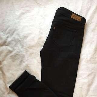 Vintage Levi's Black Jeans