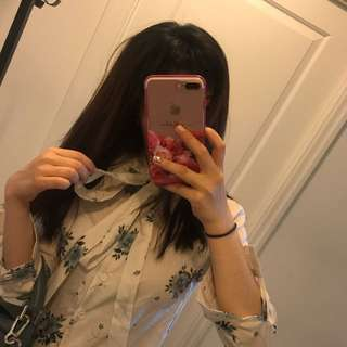 Korean Floral Shirt