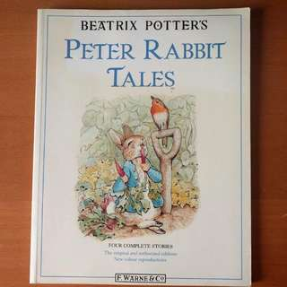 Peter Rabbit Tales, Four Complete Stories by Beatrice Potter