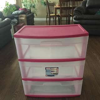 3 Drawer Cart (Perfect For University!)