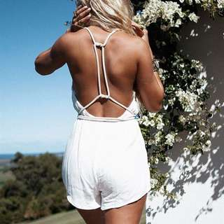 ZOLA ROPE PLAYSUIT