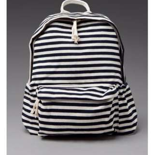 Brandy Melville Striped Backpack