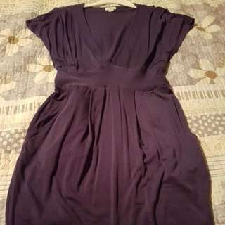 Purple Aritzia Short Dress