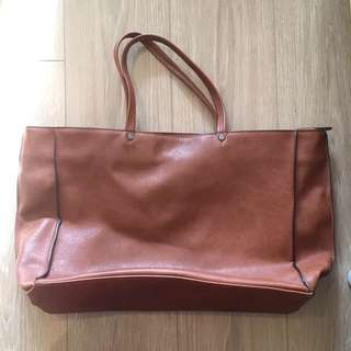 Brown Leather Zara Handbag