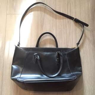 Black Zara Shoulder and Sling Bag