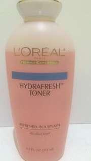 Loreal Hydrafresh Toner Alcohol Free 251ml