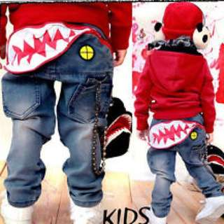 Boy's Shark Jeans size 6