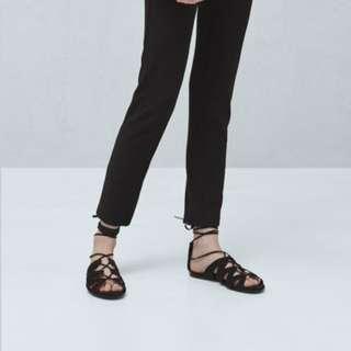 Mango Stripe Textured Legging