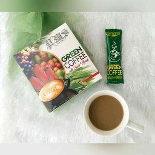 Green Coffee w/ Buah Merah