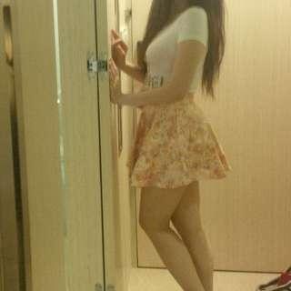 flower rampe skirt