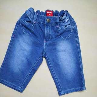 Miki 3 Quarter Jeans Size 5