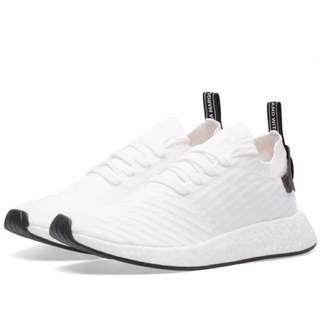 歐洲代購 Adidas NMD R2 PK 白黑 全新 絕對正品