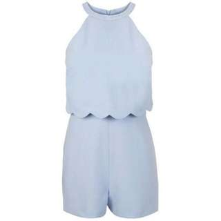 *DISCOUNTED* Miss Selfridge Baby Blue Romper