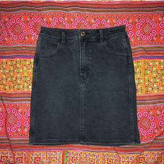 further 40% off - NEUW black denim skirt