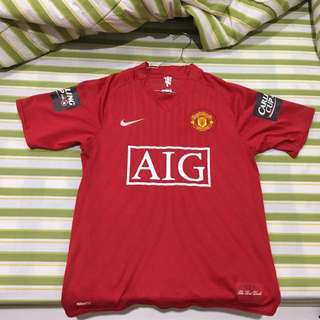 Jersey Manchester United Original Wayne Rooney Home Season 07/09
