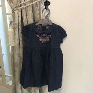 dress mothercare size 12-18m