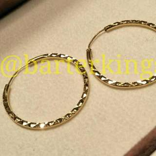 22ct Indian Gold Earrings (Unstamped)