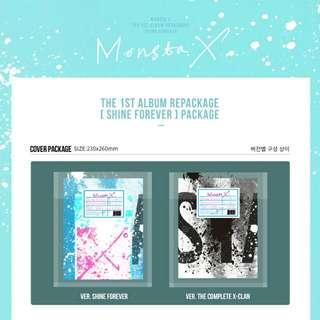 PREORDER MONSTA X REPACKAGED ALBUM