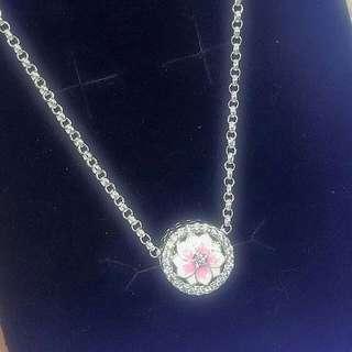 Genuine 925 Italy silver Pandora Necklace