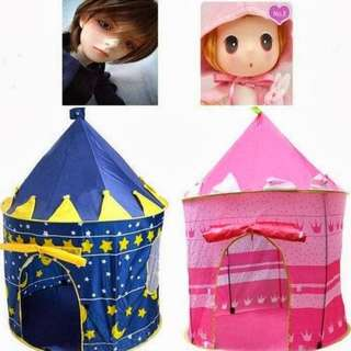 🎁Ready Stock🎁Waterproof Castle Foldable Tent / Children Play Tent
