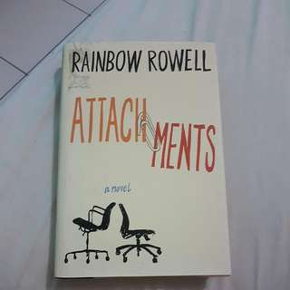 Attachments - Rainbow Rowell (Hard Cover- English)