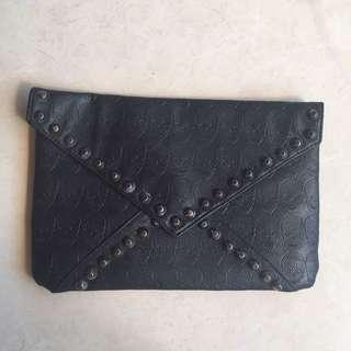 Skull Cluth Bag