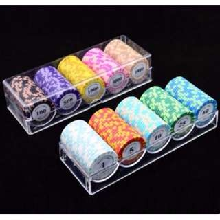 mahjong / poker chips