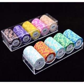 mahjong / poker chips