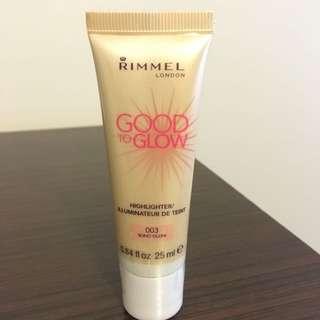 Rimmel Good To Glow Highlighter/ Illuminator