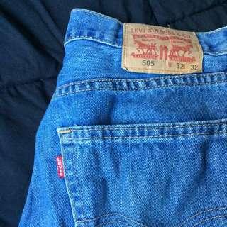 Classic Denim Levi's Baggy-fit Jeans
