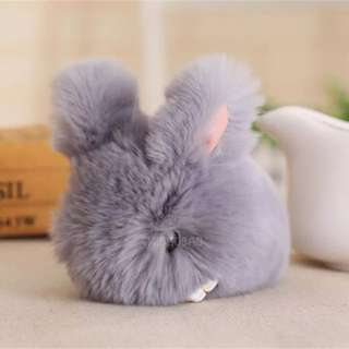 Real Fur Mouse For Bag