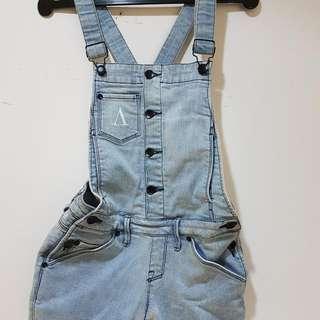 Short Jeans Jumpsuit