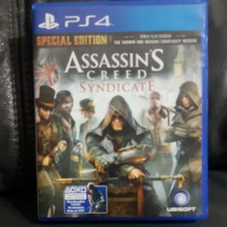 Assassin's Creed Syndicate ( Ps 4 )