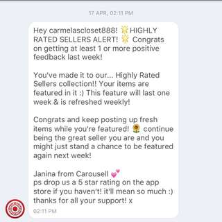 Highly Rated Seller Alert!!! ❤️😍❤️