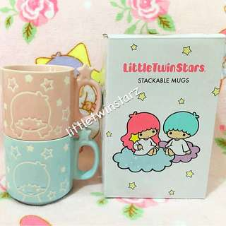 Sanrio Little Twin Stars Stackable Mugs/Cups