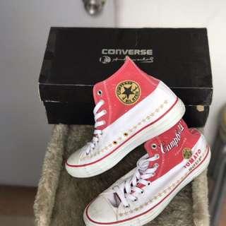 Converse x Andy Warhol size 7UK