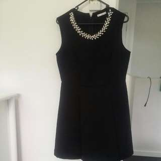 Beautiful black dress  In Exellent Condition