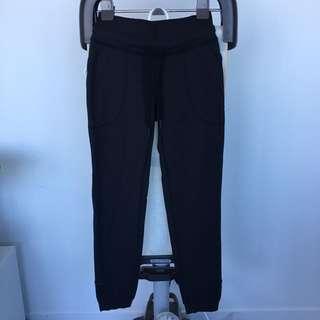 Lululemon Athletica Track Pants Black