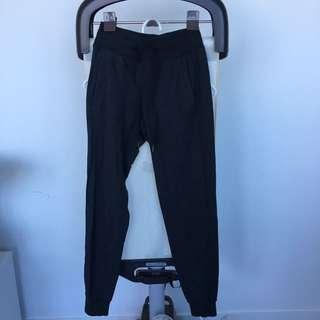 Lululemon Athletica Grey Marle Trackpants