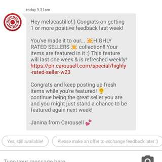 Feed Back From Carousell Family ❤️