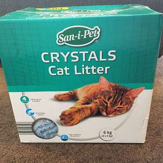 Cat Litter - Sani Pet Cat Litter Crystals 6kg